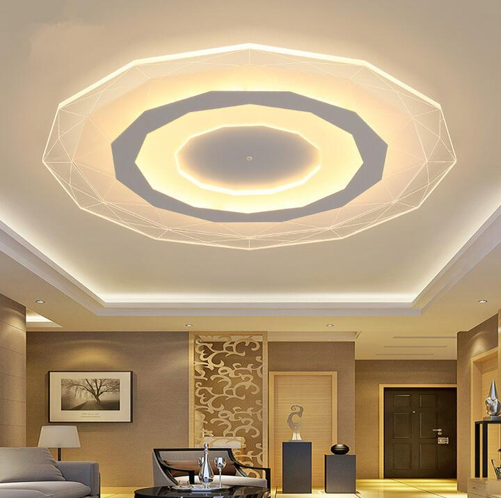 Indoor Ceiling Lights #33: Aliexpress.com : Buy Acrylic Ceiling Lights Indoor Lighting Abajur Ceiling Led Lamp Modern Led Ceiling Lights For Living Room Bedroom Fixture From Reliable ...