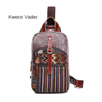 Brand National Chest Oxford Cloth Crossbody Bags For Men Messenger Chest Bag Casual Bag Canvas Short