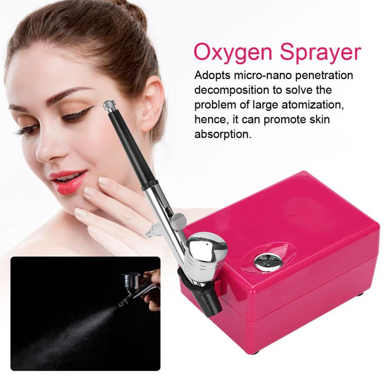 Facial Skin Spa Micro-nano Moisturizing Oxygen Sprayer Machine Anti Wrinkle Skin Rejuvenation Water Sprayer Salon Beauty Device цена
