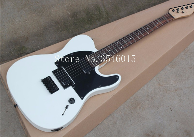buy factory custom white body electric guitar with emg pickups locking tuners. Black Bedroom Furniture Sets. Home Design Ideas