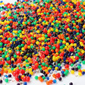 2000pcs/lot water beads Pearl shaped Crystal Soil Water Beads Mud Grow Magic Jelly balls Wedding Home Decor hydrogel