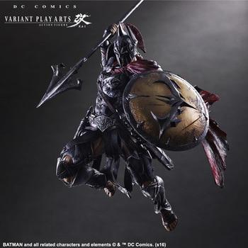 Batman Play Arts Kai  figure Variant variable Ver. Timeless Spartan PVC Action Figures Collectible Model Toys
