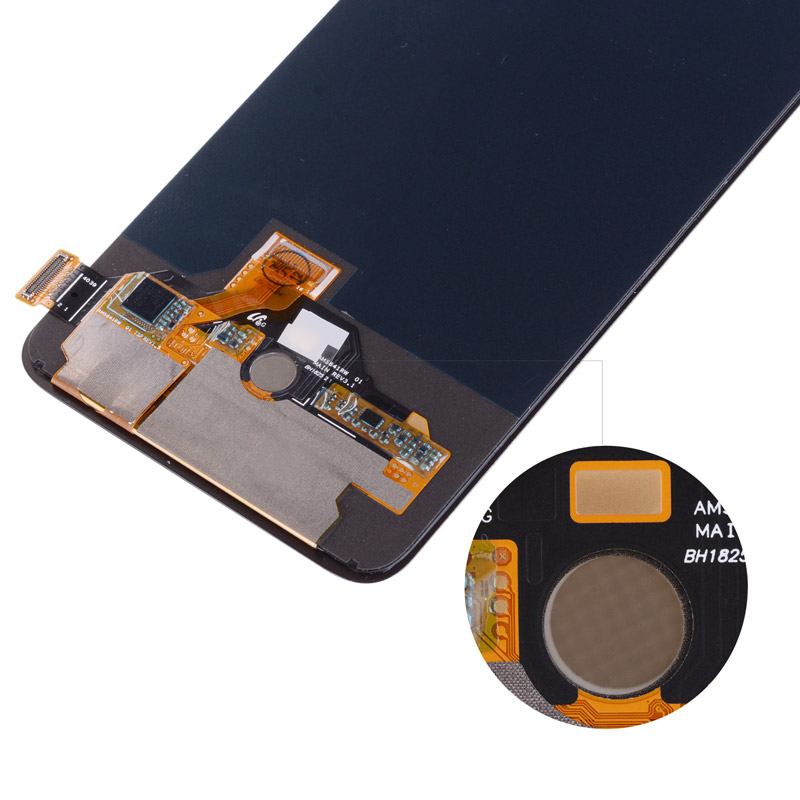 Original AMOLED LCD For Oneplus 6T Display Frame Touch Screen Assembly  Replacement 6 41 Inch 2340*1080 Glass Screen