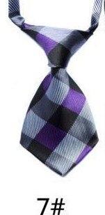 Модный галстук с принтом для мальчиков; Детский галстук; маленький галстук - Цвет: 07