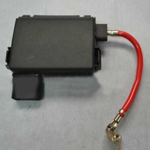 aliexpress com buy hot new car fuse box black fuse box battery hot new car fuse box black fuse box battery terminal metal plastic parts number 1j0937617d