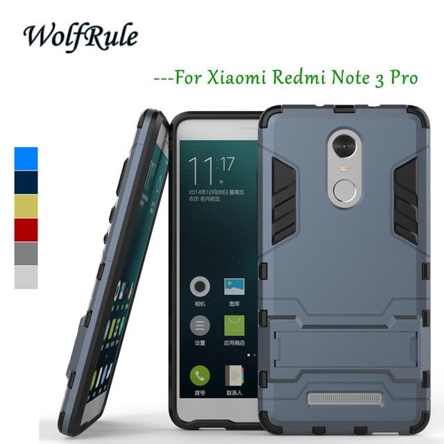 Anti-knock Case Xiaomi Redmi Note 3 Pro Cover Soft Silicone + Hard Plastic Case For Xiaomi Redmi Note 3 Pro Case Note 3 Prime[<