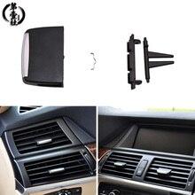 АБС-пластик + Поликарбонат автомобиль передний Вентиляционный Выход зажим для ремонта A/C Кондиционер Vent Выход Tab клип чехол BMW X5 E70 2006-2013X6 E71