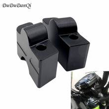 DuDuDanQi Modified fits Kawasaki ER6N / ER-6F 2012-2016 Z650 2017 handlebar risers/ Height up Adapters