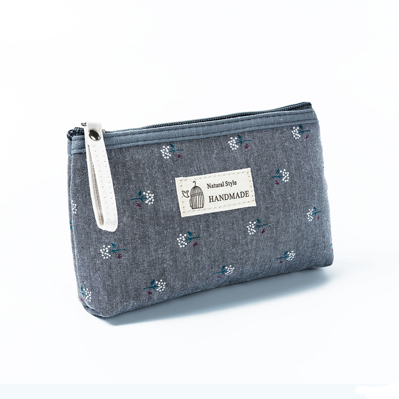 BOTUSI Women Travel Cosmetic Bag Makeup Bag Handbag Female Zipper Purse Small Cosmetics Make Up Bags Travel Beauty Toiletry Bag