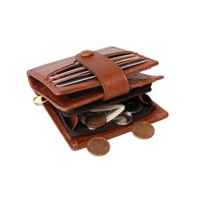 TRASSORY Rfid Anti-thief Leather Wallet Mens Business Fashion Multi-card Clutch Bag for Men