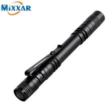 zk25 Dropshipping Pen Light Portable Mini LED Flashlight Torch XPE-R3 F