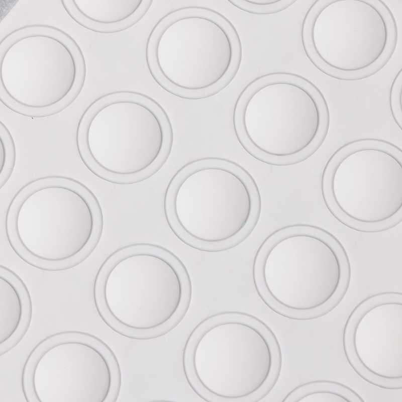 Màu sắc Nút Gel UV Ba Lan Màn Hình Dẻo Silicone Nhãn Dán Bấm Móng tay Nghệ Thuật Dụng Cụ