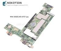 NOKOTION 00NY855 448.04W08.0021 Laptop Anakart Lenovo PI sistem kartı SR2EG M5-6Y57 CPU 4 GB