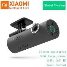 원래 xiaomi 70 마이 스마트 와이파이 dvr 카메라 무선 자동차 대시 캠 1080 p 풀 hd 나이트 비전 130 와이드 앵글 운전 레코더