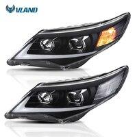 Vland заводские автомобильные аксессуары фара для Toyota Camry 2012 2013 2014 головного света с дневной свет H7 ксеноновая лампа