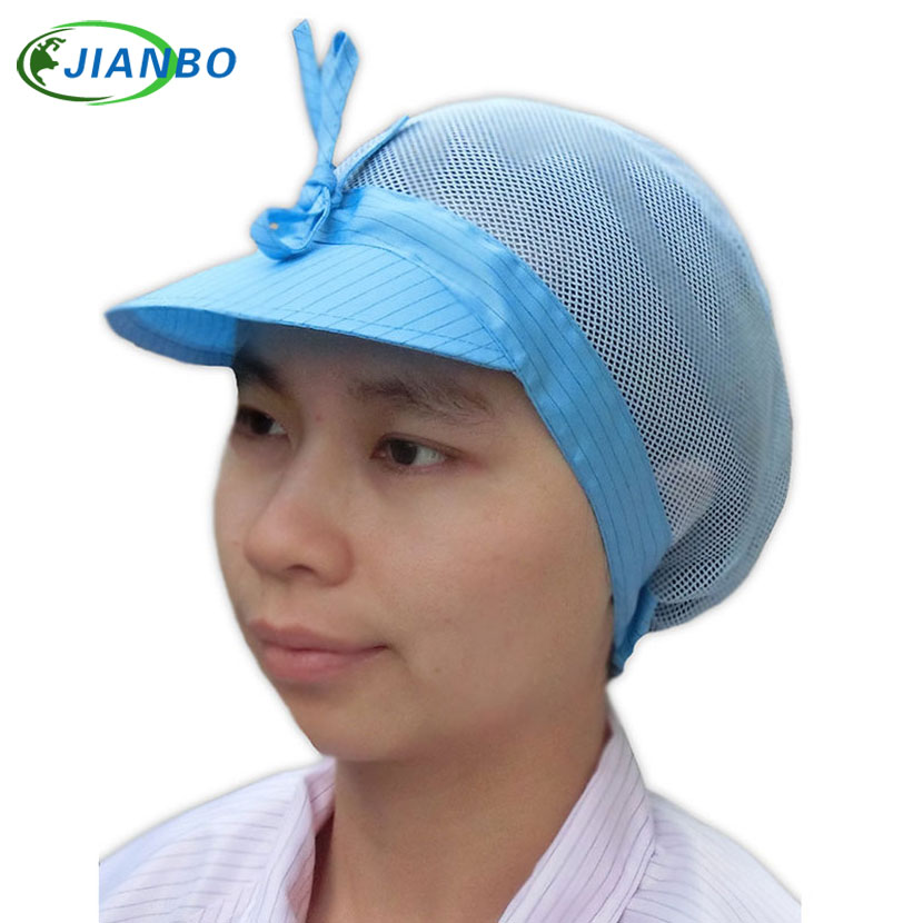 Summer Network Male Female Workers Cap Dust Shop Work Protection Food Hat Chef Cook Breathable Adjustable Catering Kitchen Cap