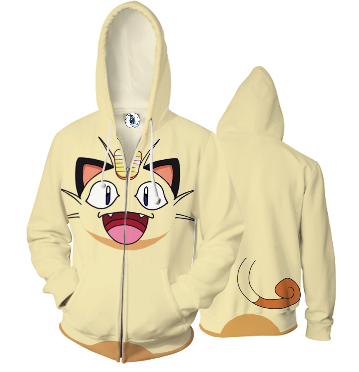 Anime 3D Hooded Sweatshirt Men Dragon Ball Z Pkemon go Printed Mens Hoodies and Sweatshirts Hip Hop Style Casual Sweat Homme