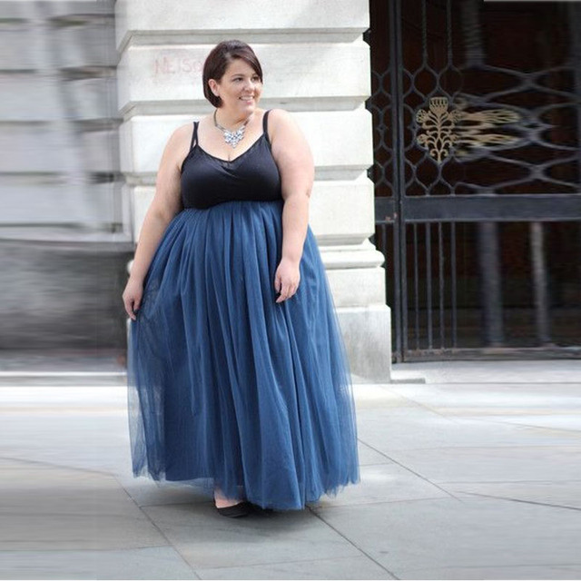 Long maxi skirts for plus size – Modern skirts blog for you