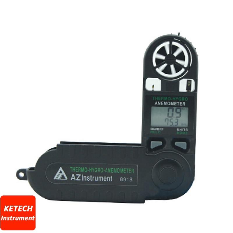Handheld Pocket Digital Windspeed Meter Air Flow Meter AZ8918