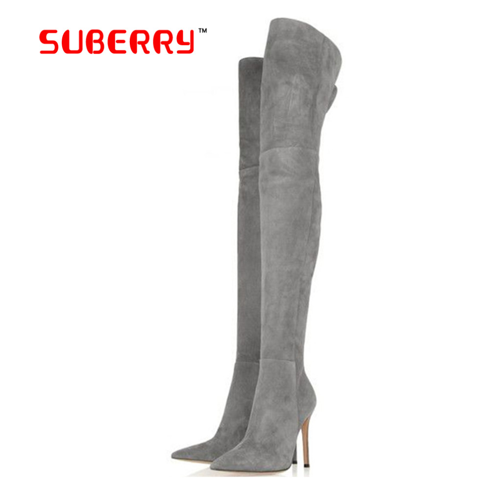 fashion plus size 13 5 winter boots for stretch faux