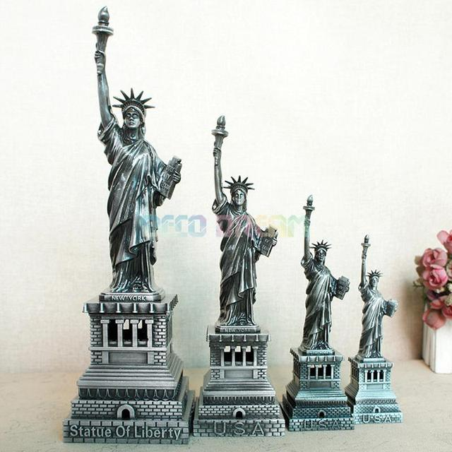 Deco Dream Vintage Home And Garden Decoration Metal Statue Of Liberty American Modern Style Craft As Good Hobby Gift For Familys 5