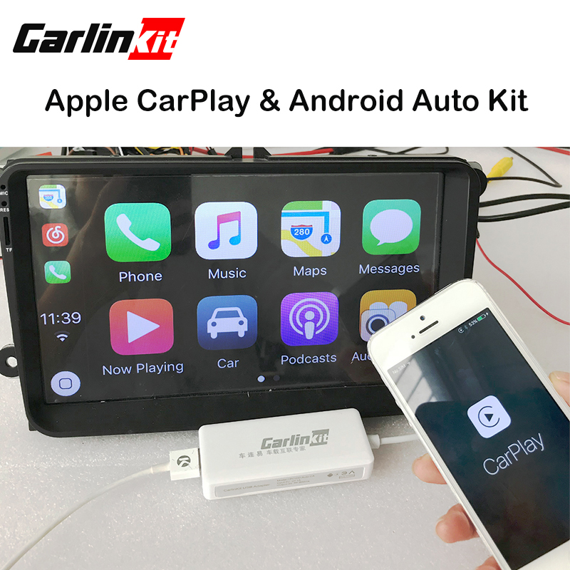 Carlinke USB DONGLE Apple iOS CarPlay Android Auto with Touch Screen Control for Android car Headunit carlinke usb dongle apple ios carplay android auto with touch screen control for android car headunit