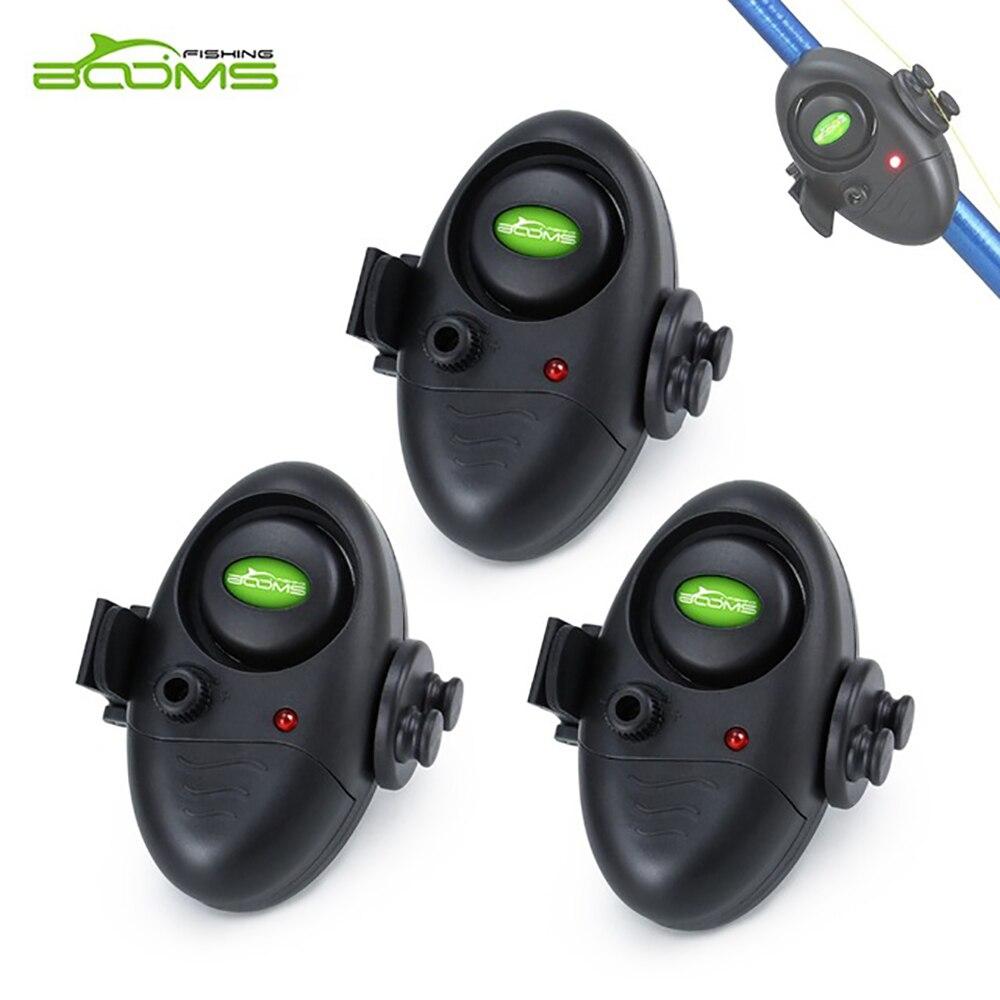 Auges de pesca E2 LED pesca mordedura de alarma zumbador electrónico sonido controlable en caña de pescar fuerte sirena día noche Lndicator