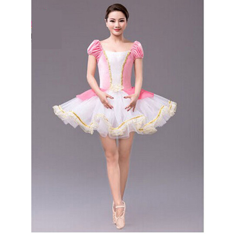 Kids Adult Pro Ballet Tutu Dancewear Skirt Pink Pearl Dance Dresses Gifts