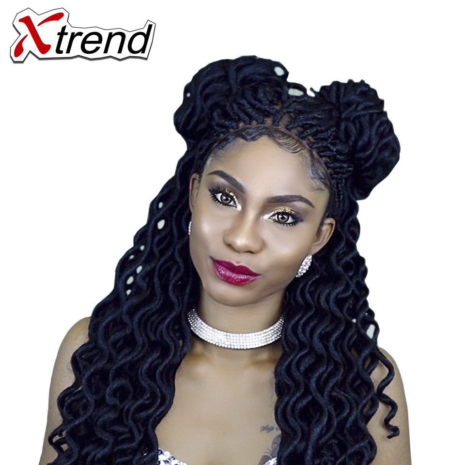 Xtrend Faux Locs Curly Crochet Braid Hair 20inch24roots ...