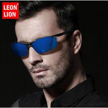 Солнечные очки leonlion в винтажном стиле uv400 для мужчин и