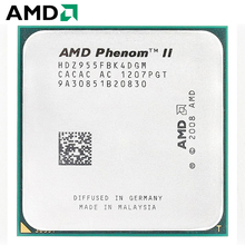 AMD Phenom II X4 955 CPU Штепсель AM3 125 Вт 3,2 ГГц 938-pin четырехъядерный настольный процессор CPU X4 955 разъем am3