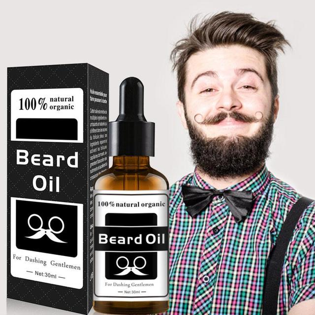 BellyLady Hair Beard Growth Oil Men Beard Grooming Products Natural Accelerate Facial Hair Grow
