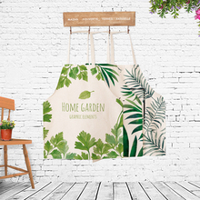 Rainforest Style Cooking Apron Funny Novelty BBQ Party Apron Naked Men Women Cat Cheeky Leaves Plant Cooking Apron avental