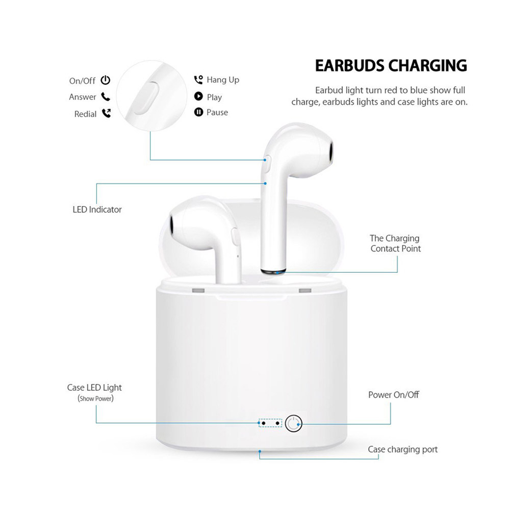 Image 5 - i11 TWS Mini Wireless Bluetooth Earphone 5.0 Wireless Earphones Earpieces Earbud Headset i7s With Mic For Xiaomi All Smart Phone-in Bluetooth Earphones & Headphones from Consumer Electronics
