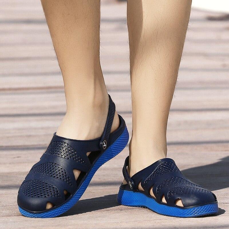 Al Suave Sandalias blue Zapatos Nuevos Casuales Hombres Black Primavera Libre Moda Zapatillas Playa Hombre Ligero Aire Verano green De Plano Diapositivas 2019 RdXvZ8wnxZ