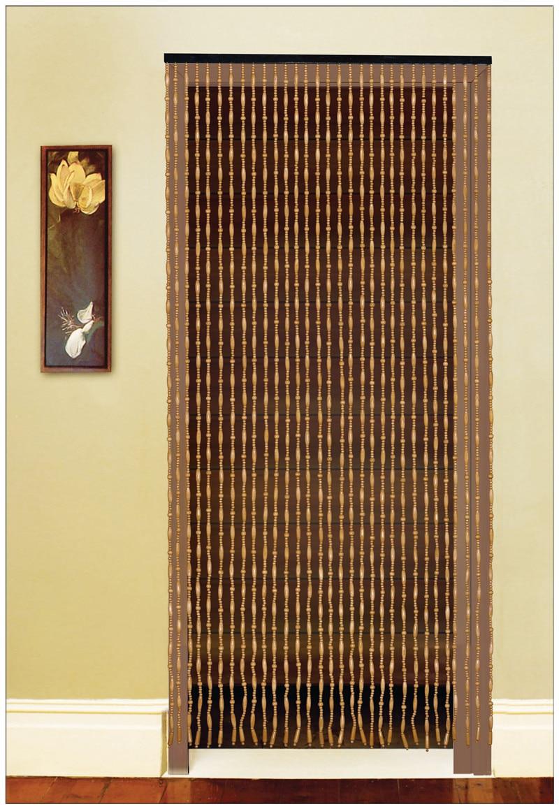 Fashion Bead Door Curtain Wooden Bead Door Screen Feng Shui Bead