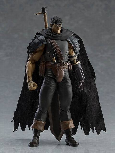 Game Figma 359 GUTS Black Swordsman Ver. Repaint Edition PVC Figures Model Toys 1
