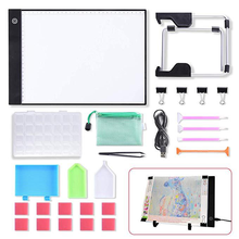 A4 LED Diamond Painting Lightpad Tablet Ultrathin 3.5mm Pad Apply To EU/UK/AU/US/USB Plug Embroidery La Casa De Papel Serie 2019