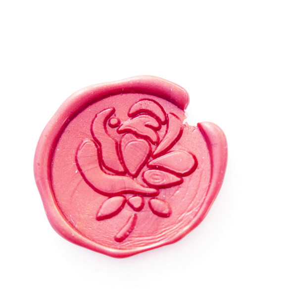 Beautiful Rose Wax Seal Stamp Rose Sealing Wax Stamp Kit Rose Wax Stamp Custom Wedding Invitation Wax Seal Kit Flower elegant flower lace lacut cut wedding invitations set blank ppaer printing invitation cards kit casamento convite pocket