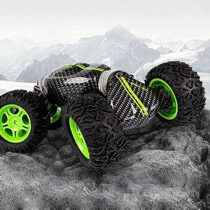 Image 3 - Kipper Auto Modell Fernbedienung Off road Stunt Twist High speed Fahrzeug Verformung Drehmoment Vier rad Stick klettern Auto Spielzeug 2,4g