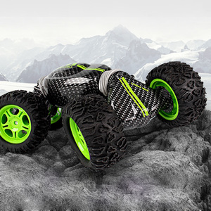 Image 3 - チッパー車モデルリモコンオフロードスタントツイスト高速車両変形トルク四輪駆動クライミング車Toy2.4g