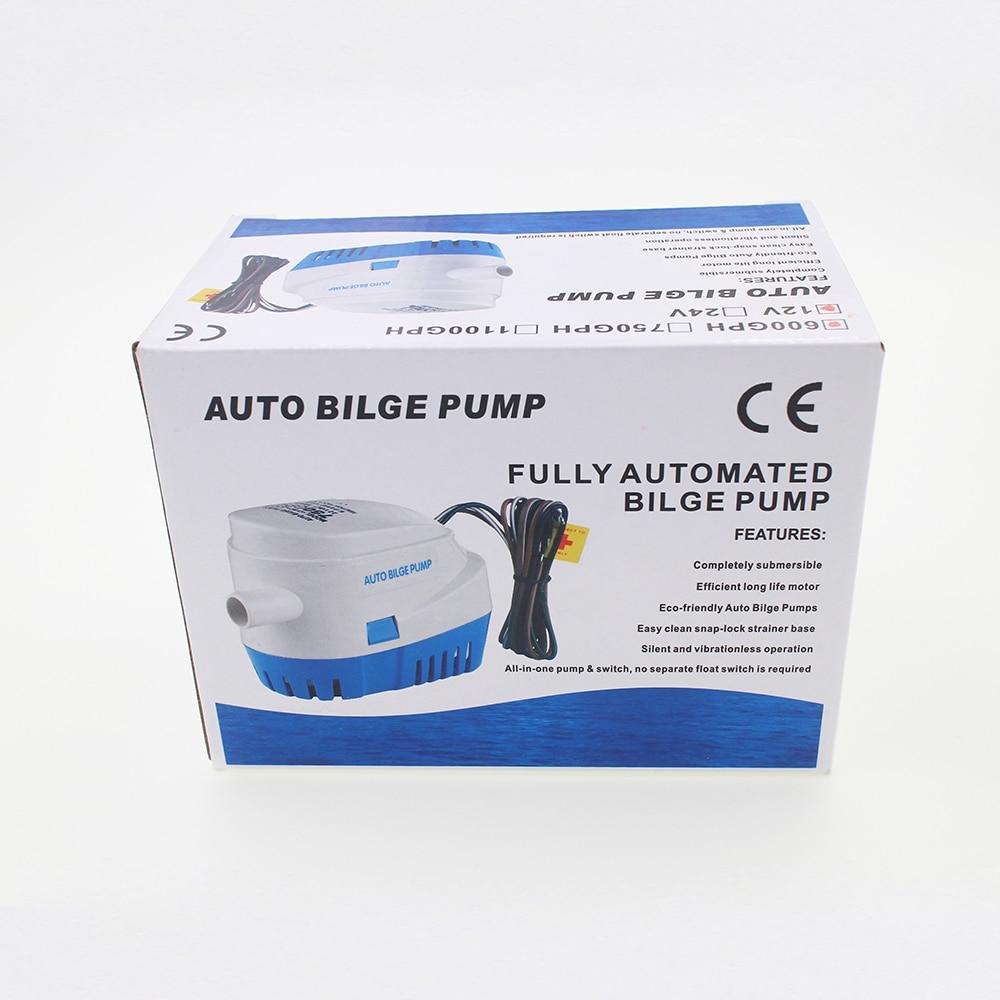 Free Shipping MKBP1 G750 06 750GPH 12v automatic boat bilge pumps ...