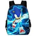 Лидер продаж  мультяшный рюкзак Super Mario Bros Sonic  детский школьный рюкзак для детского сада  Детский рюкзак с принтом  рюкзак для мальчиков и дев...