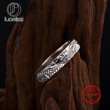 Новинка 2020 искусственное серебряное кольцо в стиле ретро простое