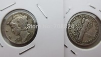 90 Silver MERCURY HEAD DIMES 1942 Dates Nice Quality Coins Retail Whole Sale Free Shipping