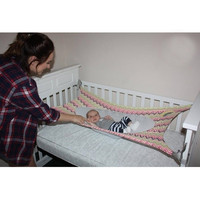 Dropshipping Cheap 2018 Newest Infantil Newborn Safety Children S Hammock Printed Detachable Portable Cotton Baby Bed