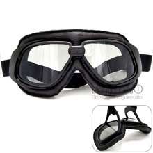 BJMOTO Hot Authentic Retro Harley Goggles Locomotive Mask Motorcycle Helmet Goggles Prevent Mist Mask