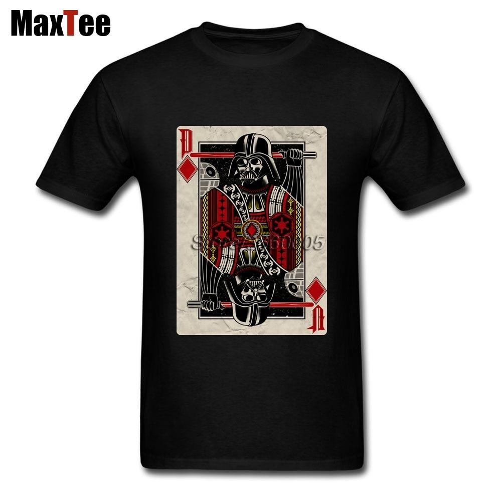 Star Wars Darth Valder T Shirt Men Male Artist Custom Short Sleeve Valentines XXXL Group Vintage Poker Camiseta