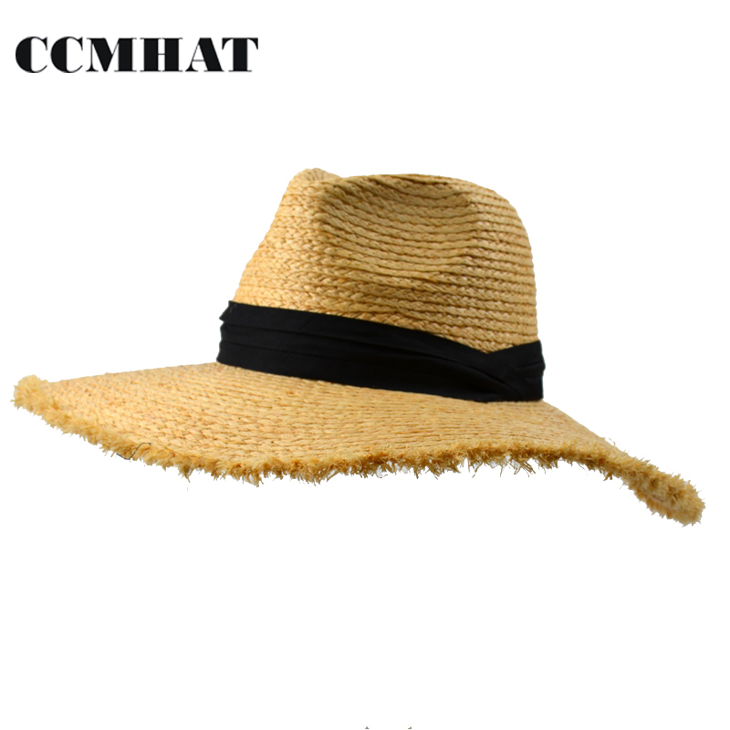 51c1e95c146 Buy raffia floppy hat and get free shipping on AliExpress.com