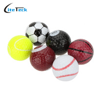 Wholesale Golf Balls Novel Double Ball Two Piece Ball Golf Equipment 6pcs Bag